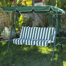 outdoor swing bench cushions outdoor wooden a frame beam porch