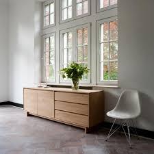 2 Door Oak Sideboard Wave Sideboard Oak 2 Doors 3 Drawers Ethnicraft Modern