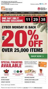 home depot marketing plan urgency in emails countdown inspirations