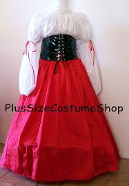 plus size pirate blouse handmade plus size renaissance barmaid wench pirate