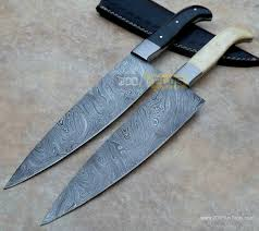 steel kitchen knives damascus chef knife 8 inches blade razor sharp edges