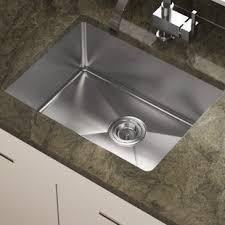 kitchen stainless steel sinks stainless steel kitchen sinks you ll love wayfair