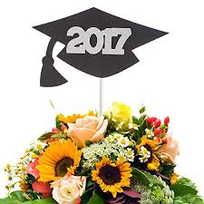 graduation cap centerpieces graduation cap with 2017 centerpiece stick handmade