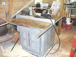 table saw power feeder fs delta rockwell 14 tilting arbor table saw with power feeder