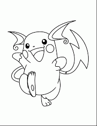 good pokemon raichu coloring pages charizard coloring pages