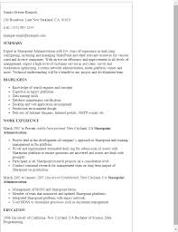 sharepoint resume professional sharepoint administration templates to showcase your