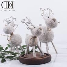 online get cheap christmas reindeer figurines aliexpress com
