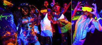 glow paint party glow paint party birthday party ideas