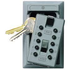 kidde permanent 5 key box with pushbutton combination lock