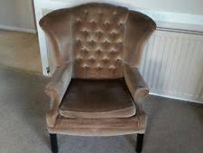 Chesterfield Style Armchair Chesterfield Wingback Armchairs Ebay