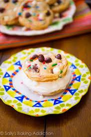 cake batter cookie ice cream sandwiches sallys baking addiction
