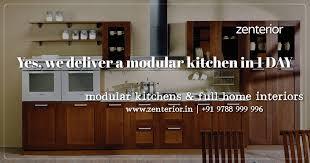 home interior design for kitchen zenterior in interior design studio chennai india 7 reviews
