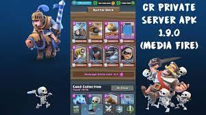 newest apk link updated clash royale 1 9 0 server apk with newest