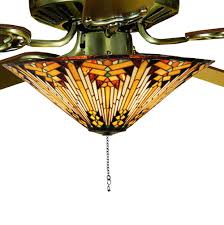 Ceiling Fans With Tiffany Style Lights Pleasurable Tiffany Style Ceiling Fan Charming Brockhurststud Com