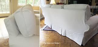 Denim Slipcover Sofa the slipcover maker custom slipcovers tailored to fit your