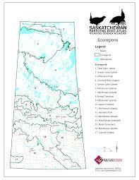 Map Of Saskatchewan Saskatchewan Breeding Bird Atlas