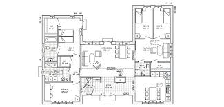 one floor plans h shaped house plans one h shaped house plans unique u shaped