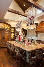 kitchen decorating ideas awesome kitchen decorating ideas with chair and santa