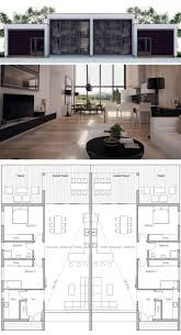 best 25 duplex plans ideas on pinterest duplex house plans