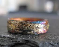 artisan wedding rings artisan wedding ring etsy