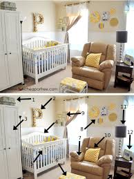 Gray And Yellow Nursery Decor Our Yellow Gray Nursery Cheap Or Free