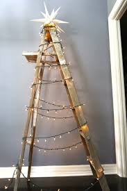 ladder christmas tree 3 ways to a christmas tree without an actual tree above