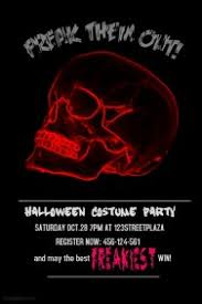 Create Halloween Posters Fast U0026 Easy Postermywall