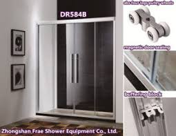 Fix Shower Door China Two Fix Two Sliding Aluminum Alloy Frame Shower Door Shower