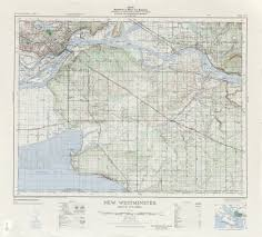 British Columbia Canada Map by