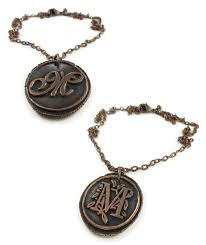 custom necklace pendants custom order copper wax seal pendant ttereve
