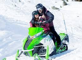 wow salman khan woos kaif on a snow mobile in tiger zinda