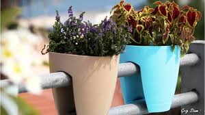 railing planters smart accessories for small balconies and decks