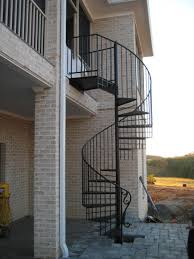 outside stairs ideas for house gl balcony railing systems concrete