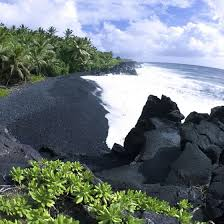 black sand beach big island beaches on hawaii s big island usa today