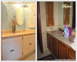 painting bathroom cabinets with spray paint grey painted one can spray paint see more painting light fixtures check out this post painted beautiful bathroom cabinets com cupboard ideas