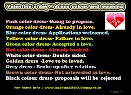 colour meaning valentines day colour valentines day dress colours and their