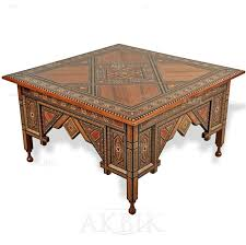 jofran baroque end table coffee table jofran baroque brown cocktail table with mosaic tile