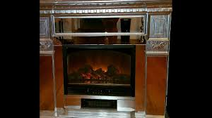 glass fire place diy youtube