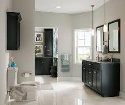 Kraftmaid Bathroom Vanity Cabinets by Bathroom Colors With Black Cabinets Www Islandbjj Us