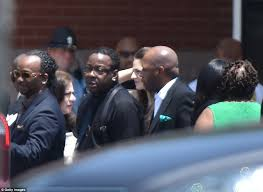 brown s day bobby brown breaks after s funeral reception