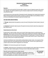 word lab report template chemistry lab report template template
