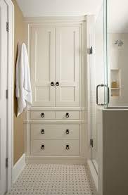 countertop distressed bathroom linen cabinets custom
