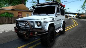 mercedes g wagon 2016 mercedes benz g class for gta san andreas