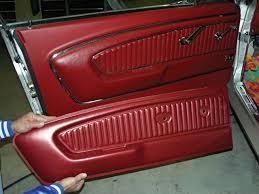 mustang door panel tmi 65 66 pony interior door panel mustang monthly
