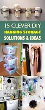 clever diy hanging storage solutions and ideas