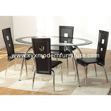 oval glass dining table hot sell oval glass dining table and chairs xydt 099 xydc 076