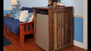 cabinet enclosure for refrigerator mini fridge cabinet furniture youtube