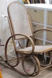 Cane Rocking Chair Bentwood Rocker Image Taken From