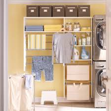 minimalize laundry room with attractive martha stewart closets