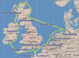 map of n europe jim